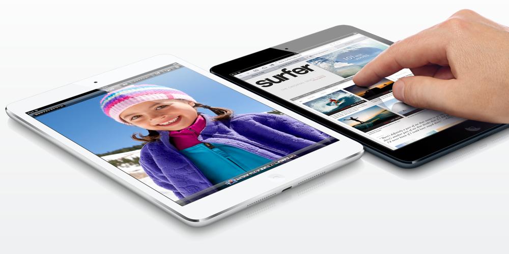 iPad mini。買うなら黒?それとも白?どっちが人気?