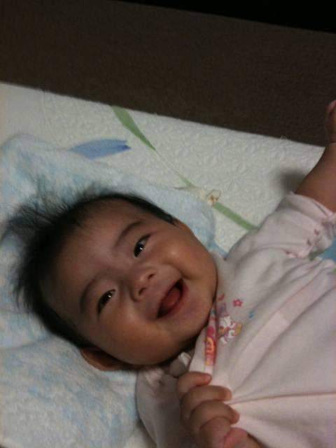 6ヶ月。生後183日で、赤ちゃんは生まれた時の倍以上になる。