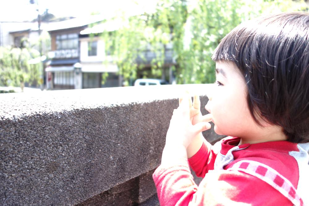GWは城崎温泉へ。温泉もさることながら子どもの姿に癒されました。