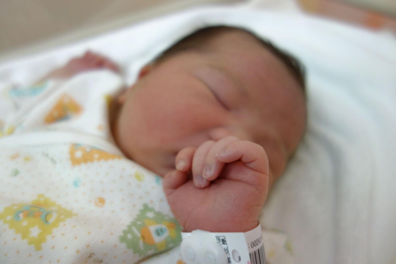 先日新たに家族が増えました!次女誕生です!