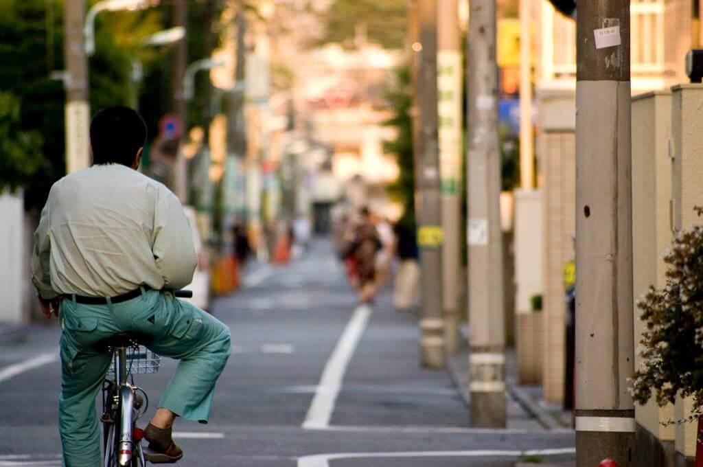 自転車のおっさん