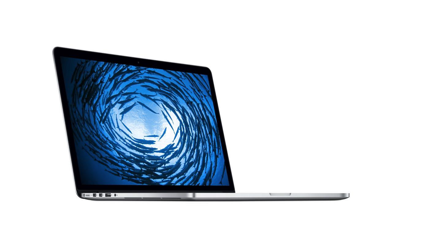 いつの間にか新しい15インチMacBook Pro Retinaディスプレイモデルが販売されてた