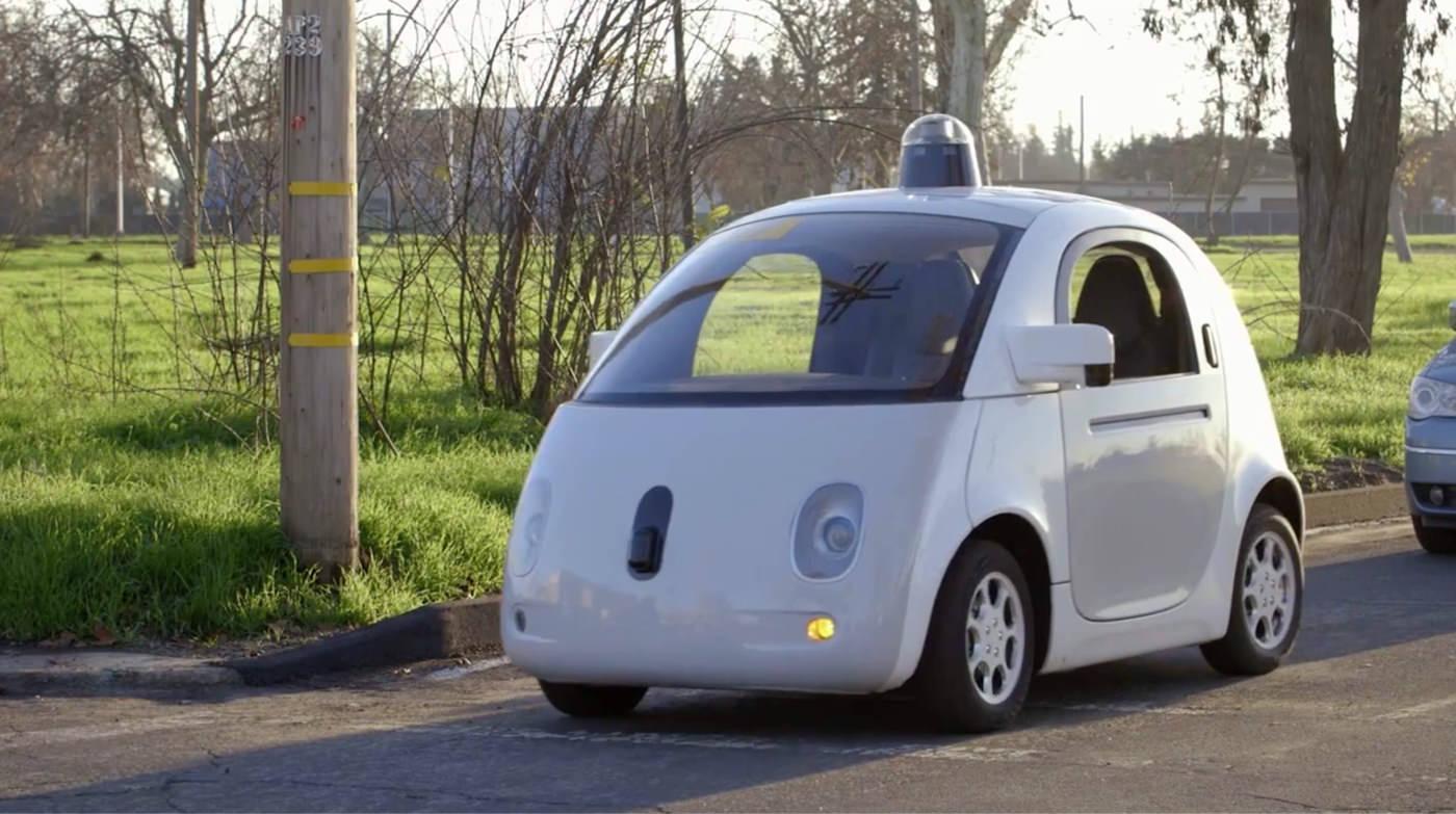 Googleの全自動運転車 たたずまい